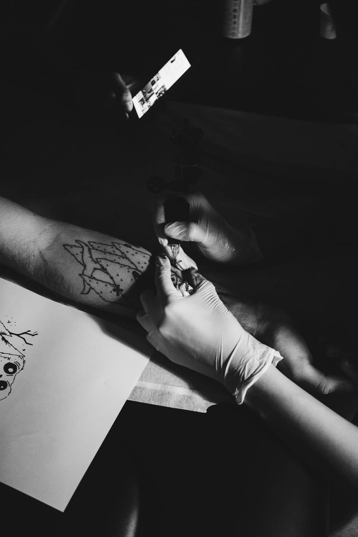 Первая тату