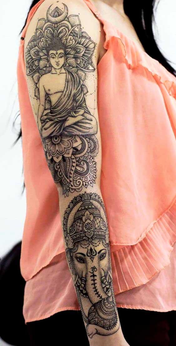 Hindu tattoo