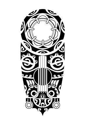 Эскизы тату маори
