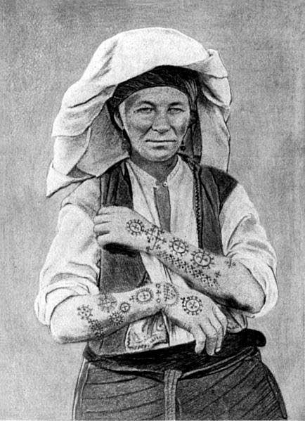 Сербские тату