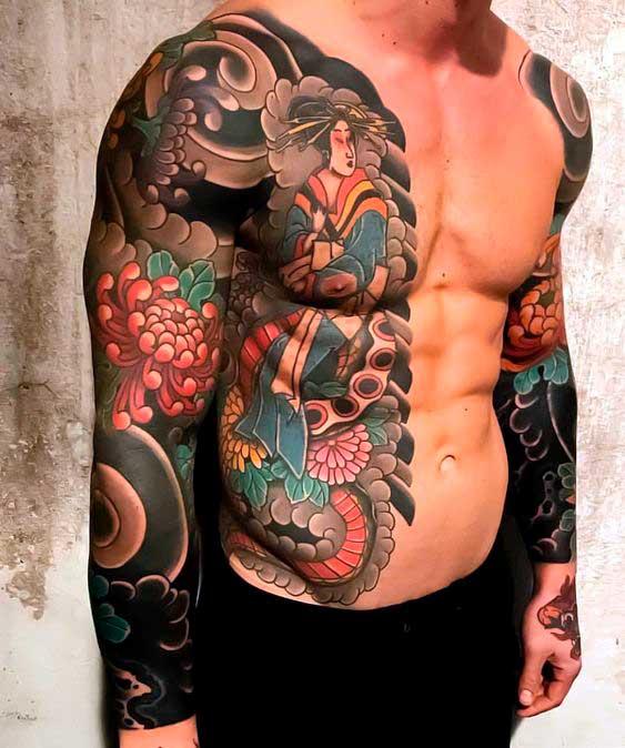 Японская тату