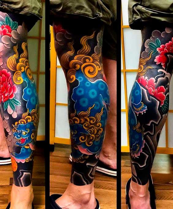 Японская Художественная татуировка