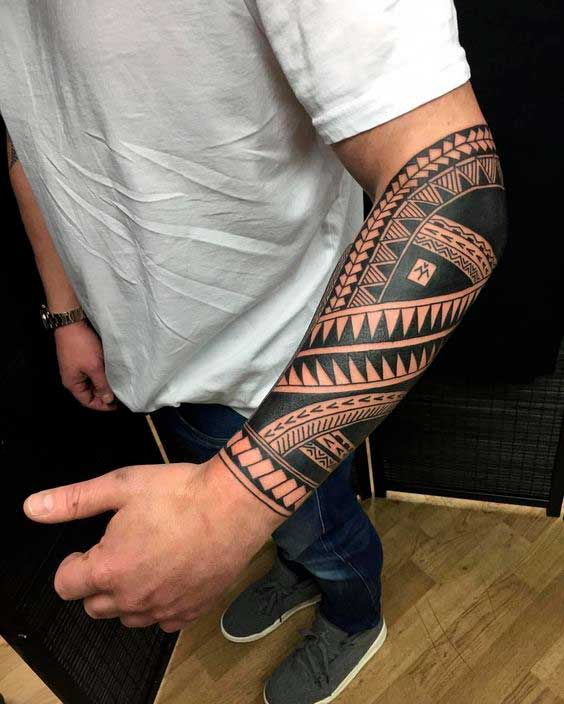 Полинезийская татуировка