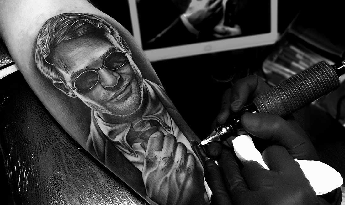 Татуировка в стиле реализм