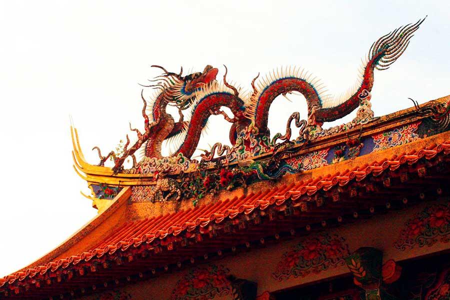 Дракон в древнем Китае