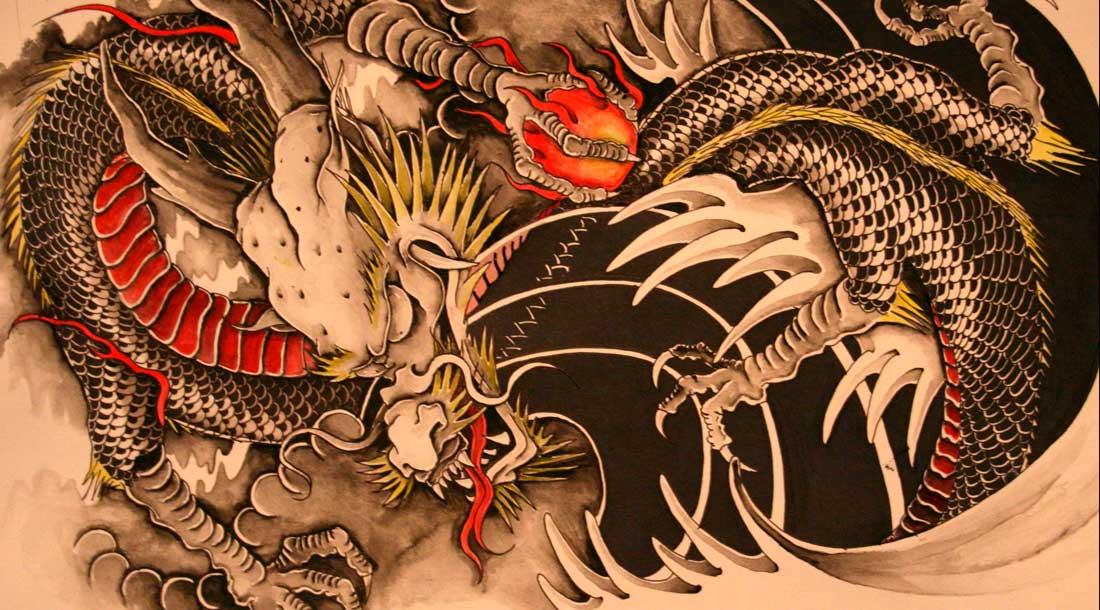 Татуировка дракона её значение
