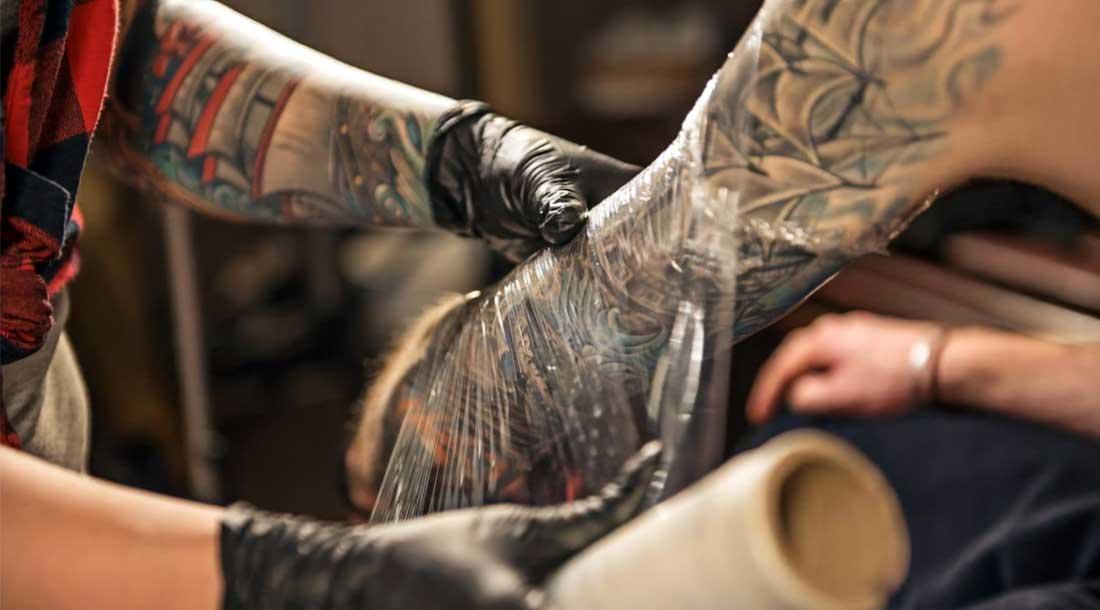 Заживления татуировок