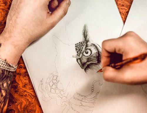 4 способа создания эскиза для татуировки