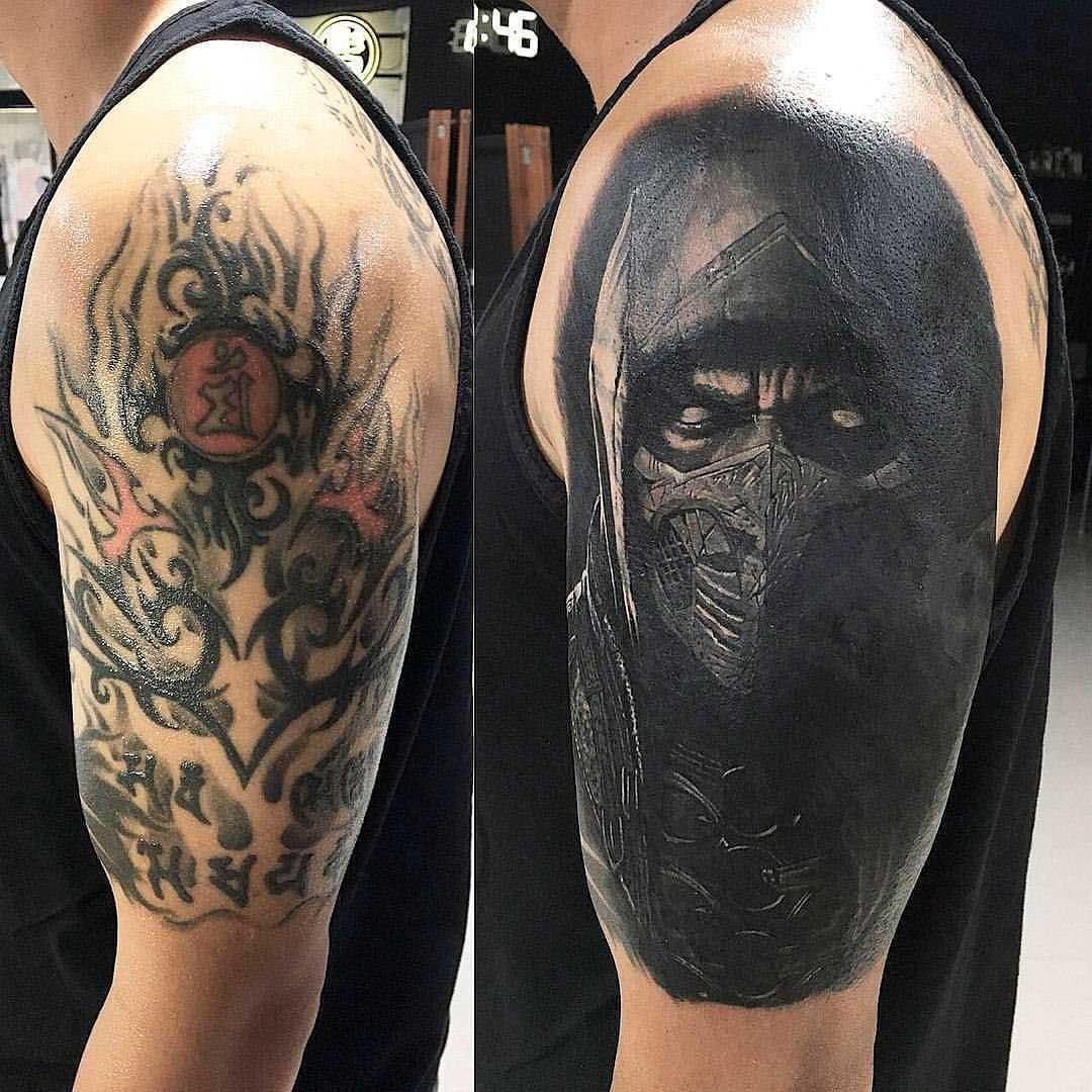 Перекрытие татуиро