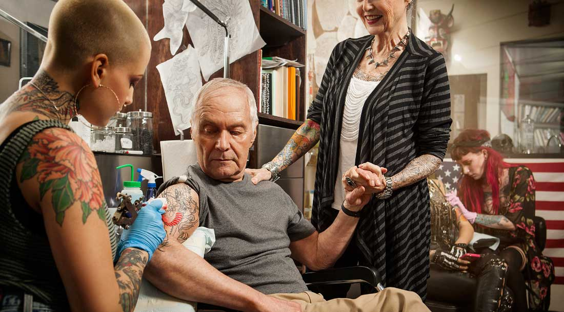 Верхняя граница идеального возраста для тату