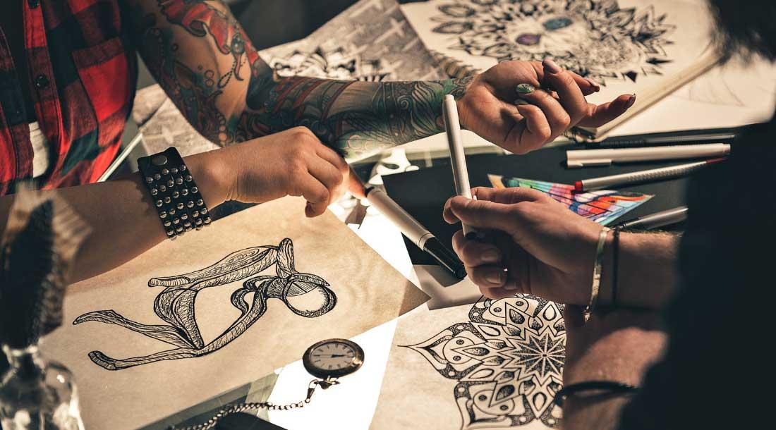 Схема работы с тату мастером