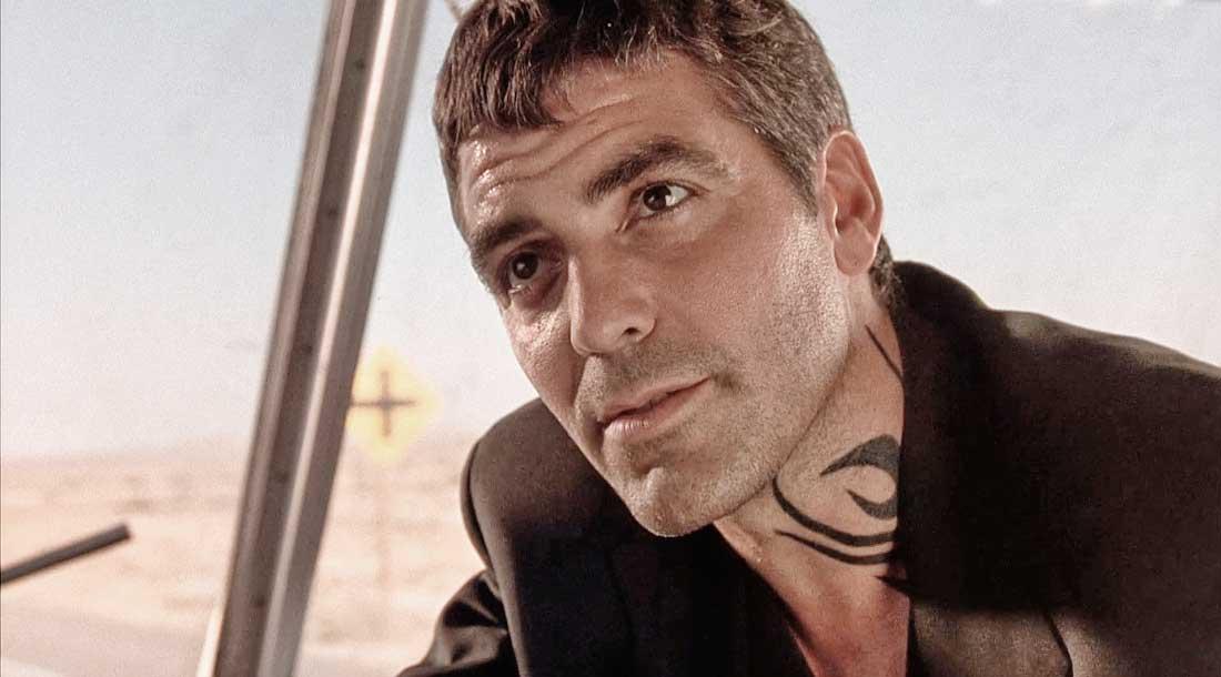 Тату как у Клуни