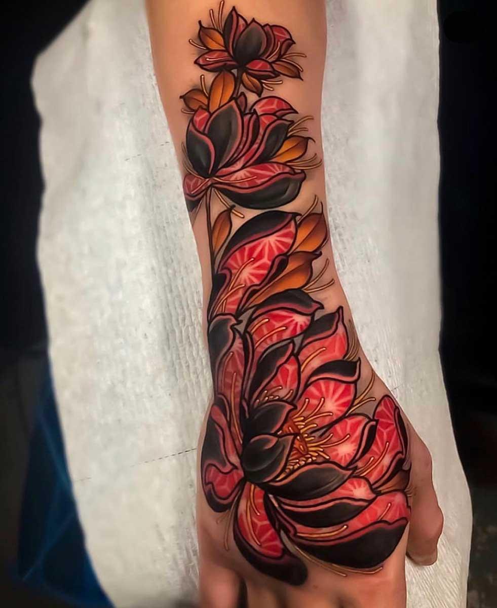 Проект своей будущей татуировки