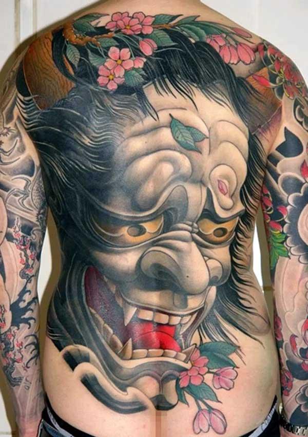 Тату в стиле Япония 1