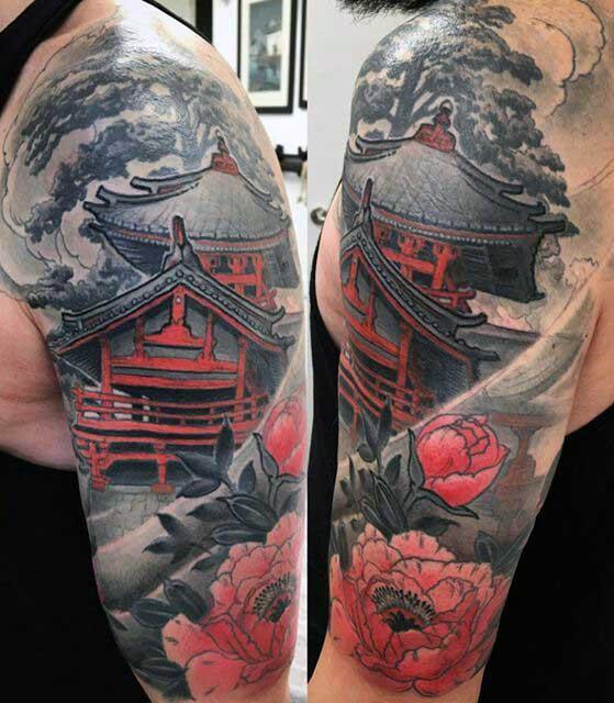 Тату в стиле Япония 5