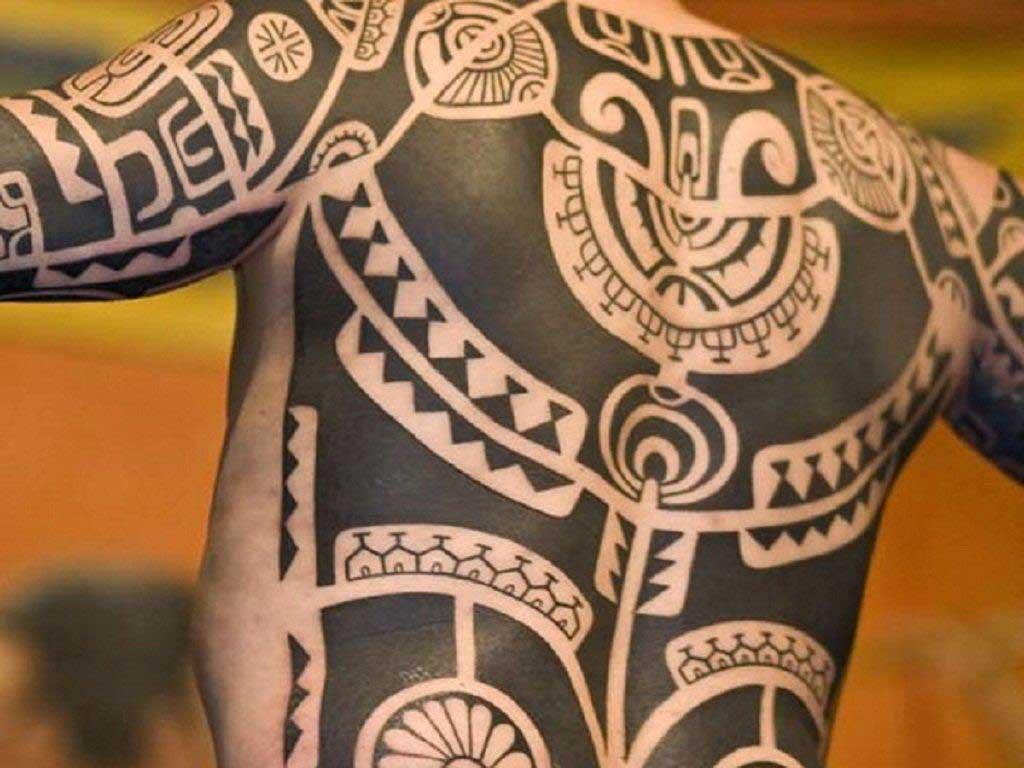 Тату в стиле Полинезия 15