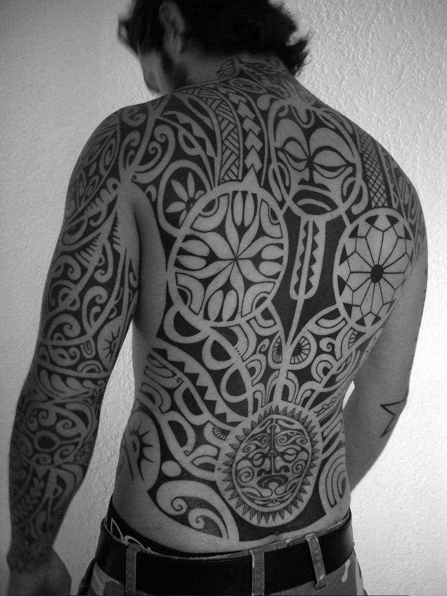 Тату в стиле Полинезия 18