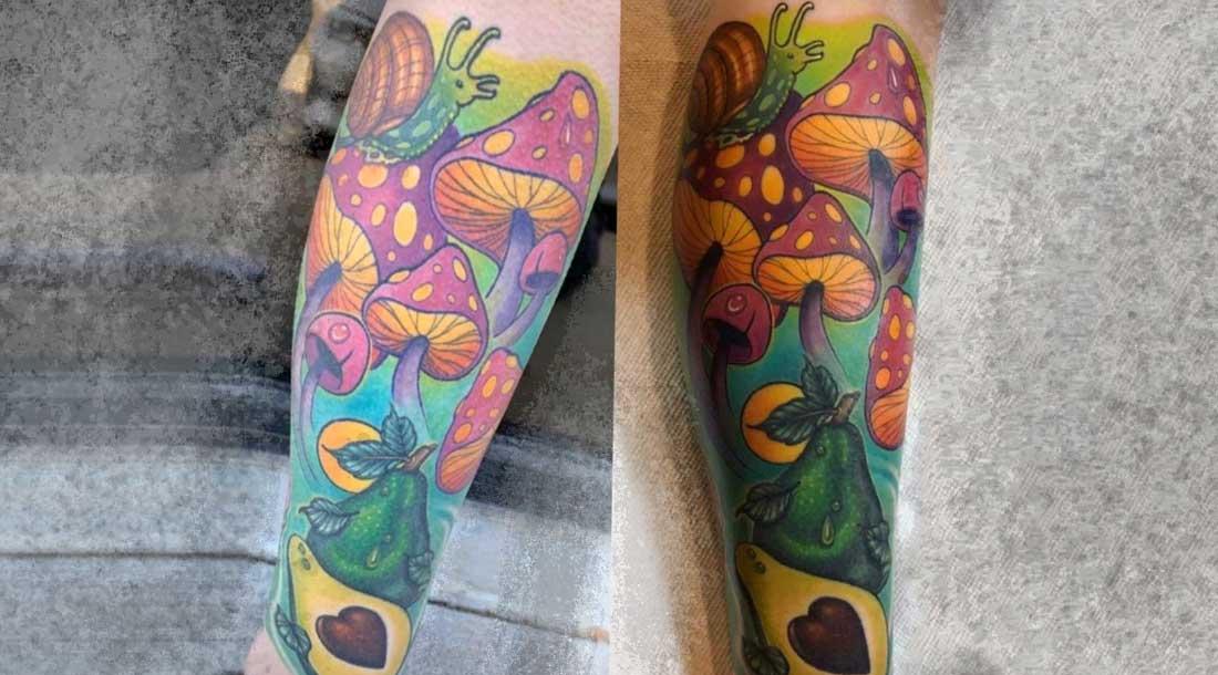 Как ваша татуировка будет выглядеть через время 22